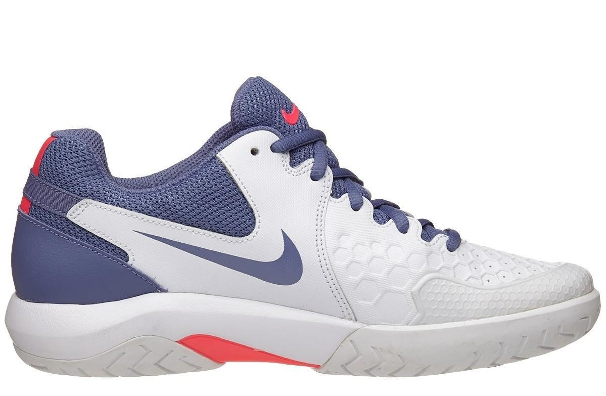 Теннисные кроссовки женские Nike WMNS Air Zoom Resistance White/Binary Blue/Red/Pure Platinum