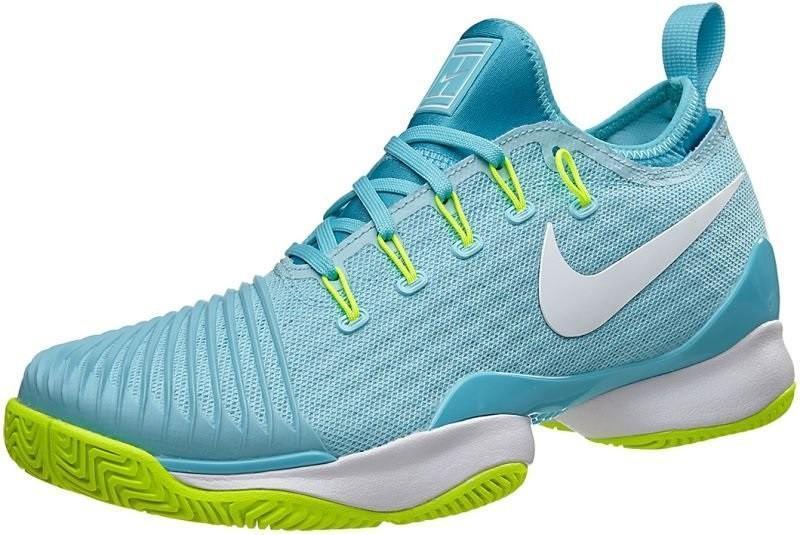Теннисные кроссовки женские Nike WMNS Air Zoom Ultra React HC still blue/white