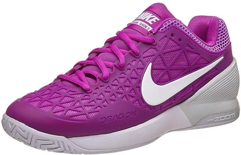 Теннисные кроссовки женские Nike WMNS Zoom Cage 2 EU vivid purple/white