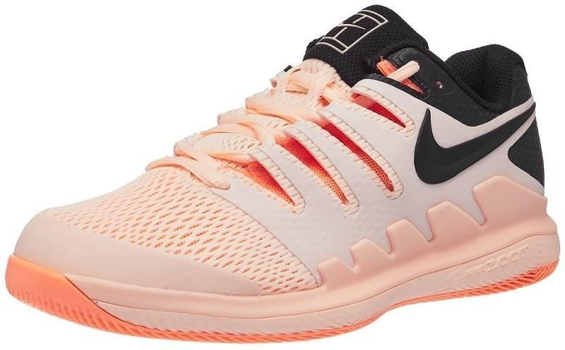 Теннисные кроссовки женские Nike WMNS Zoom Vapor 10 HC crimson tint/black