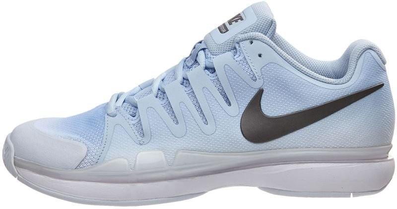 Теннисные кроссовки женские Nike WMNS Zoom Vapor 9.5 Tour hydrogen blue/metallic dark grey