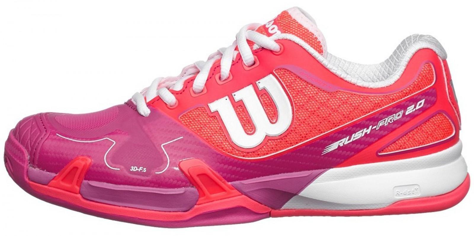 Теннисные кроссовки женские Wilson Rush Pro 2.0