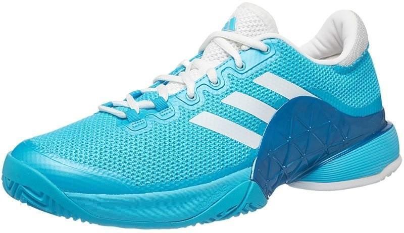 Теннисные кроссовки мужские Adidas Barricade 2017 samba blue/ftwr white