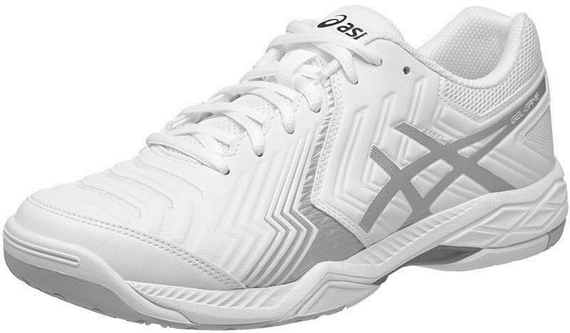 Теннисные кроссовки мужские Asics Gel-Game 6 white/silver