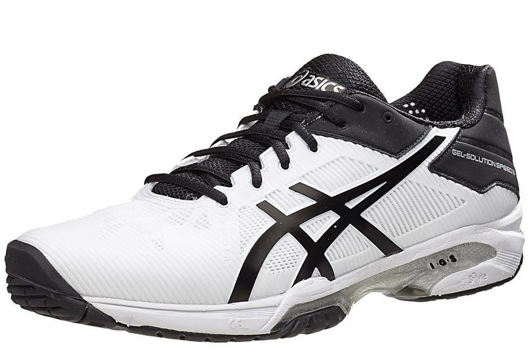 Теннисные кроссовки мужские Asics Gel-Solution Speed 3 white/black/silver
