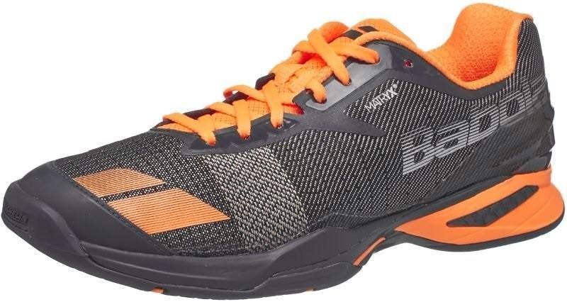 Теннисные кроссовки мужские Babolat Jet All Court M grey/orange