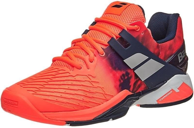 Теннисные кроссовки мужские Babolat Propulse Fury All Court fluo red