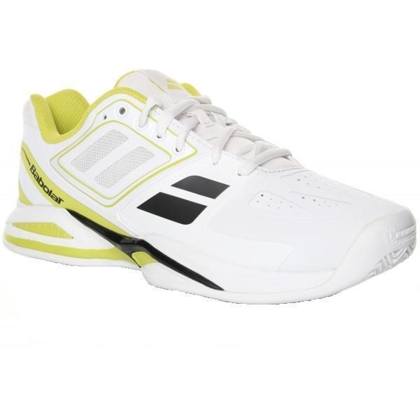 Теннисные кроссовки мужские Babolat Propulse Team BPM Грунт White/Yellow
