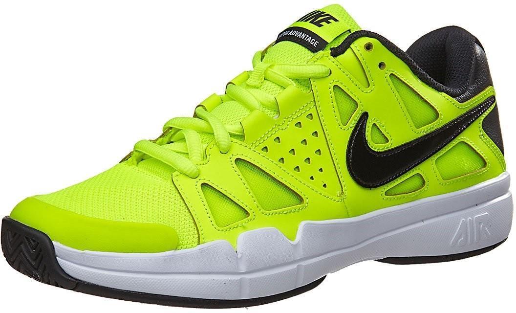 Теннисные кроссовки мужские Nike Air Vapor Advantage volt/black/white/black