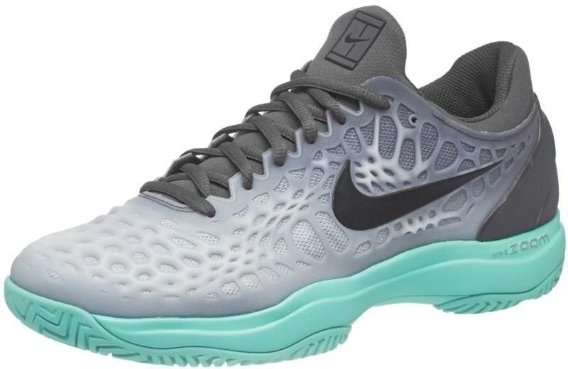 06cd8850ce52fe Тенісні кросівки чоловічі Nike Air Zoom Cage 3 dark grey/black/aurora green