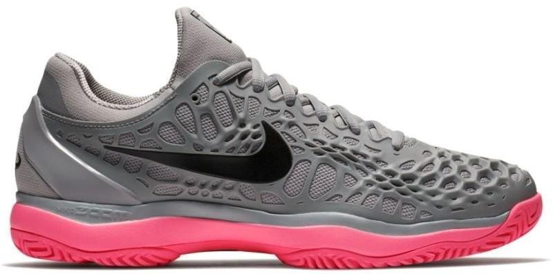 c56aa1bc9b5683 ... Тенісні кросівки чоловічі Nike Air Zoom Cage 3 HC atmosphere grey/black  ...