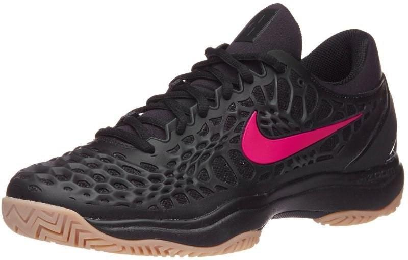 Теннисные кроссовки мужские Nike Air Zoom Cage 3 HC PRM black/gum light brown