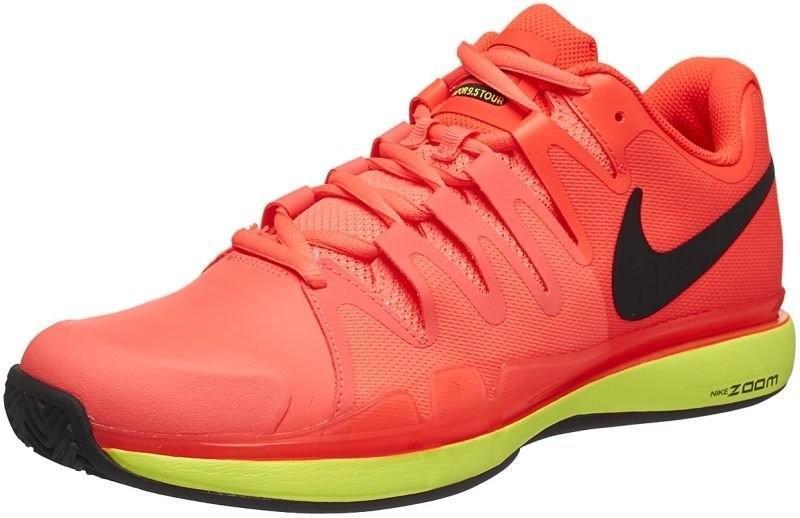 Теннисные кроссовки мужские Nike Zoom Vapor 9.5 Tour ГРУНТ lava glow/black/hyper orange