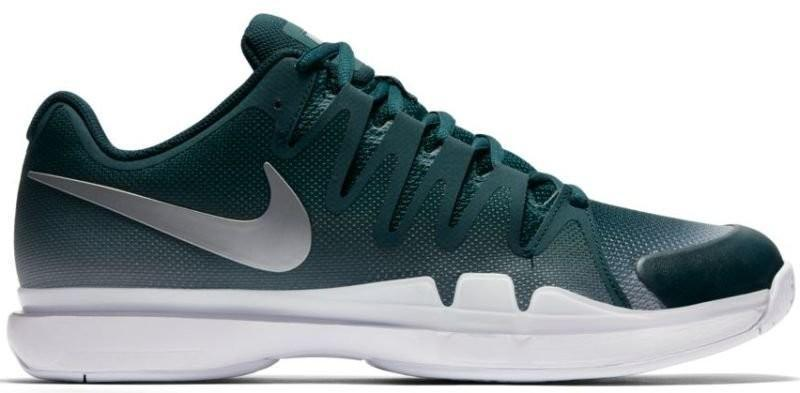 Теннисные кроссовки мужские Nike Zoom Vapor 9.5 Tour dark atomic teal/metallic silver