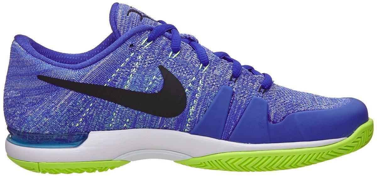 bd217691a60c3a ... Тенісні кросівки чоловічі Nike Zoom Vapor Flyknit HC QS paramount blue/ black ...