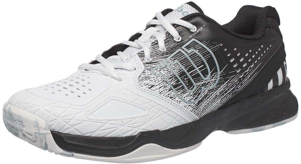 Теннисные кроссовки мужские Wilson Kaos Comp black/white/pearl blue