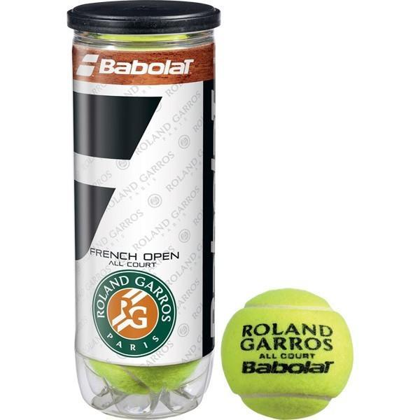 Мячи для тенниса Babolat French Open All Court 3-Ball