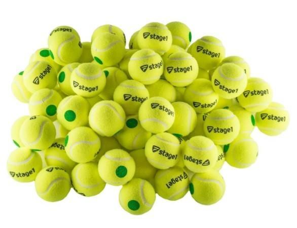 Tecnifibre Green/Stage 1(75%) 72-мяча пакет