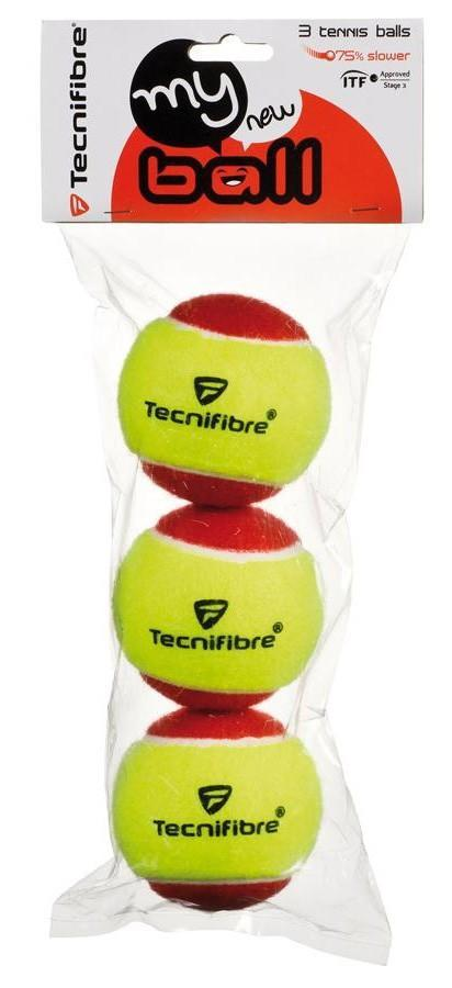 Tecnifibre My New Ball (25%) 3-Ball