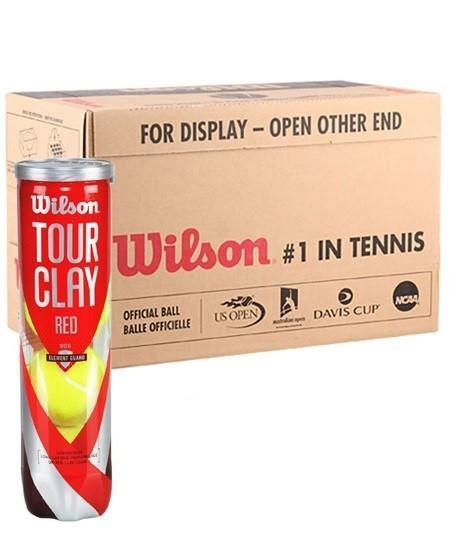 Wilson Tour Clay Red 4-Ball 18-банок