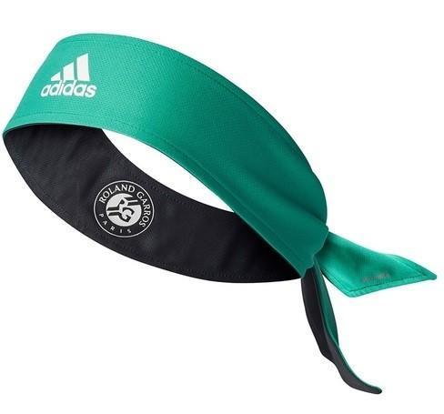 Бандана Adidas Rolland Garros Elastic Headband Unique green/black