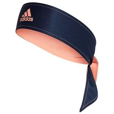 Бандана Adidas Tennis Tie Band Rev (OSFM) collegiate navy/silver/chalk coral