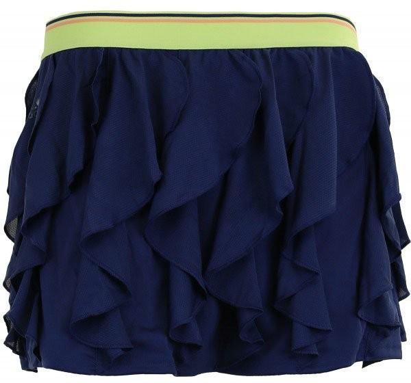 Теннисная юбка детская Adidas Frilly Skirt noble indigo