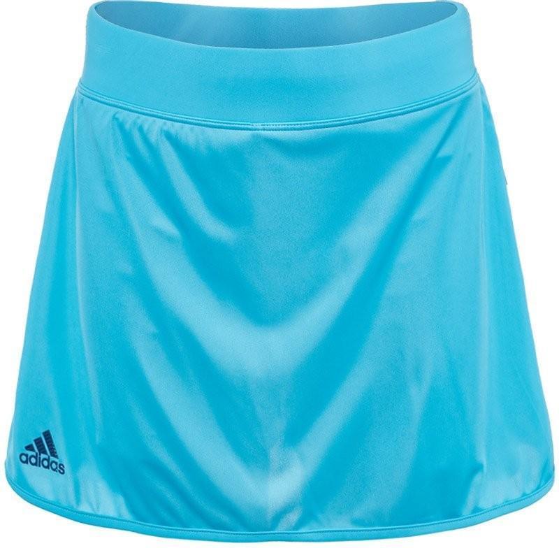 Теннисная юбка детская Adidas G Club Skirt samba blue/mystery blue