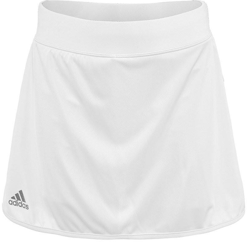 Теннисная юбка детская Adidas G Club Skirt white/black