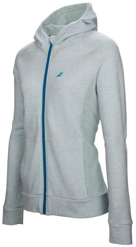 Реглан детский Babolat Core Hoodie Sweat Girl light blue