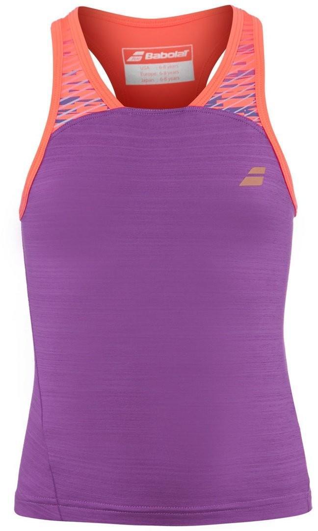 Теннисная майка детская Babolat Performance Racerback Girl bright lavender