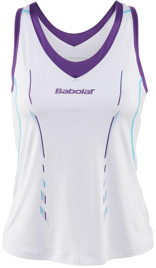 Теннисная майка детская Babolat Tank Match Performance Girl white