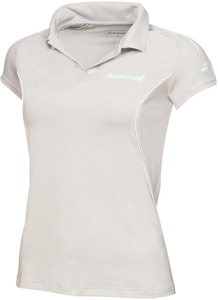 Теннисная футболка детская Babolat Polo Match Match Girl grey поло