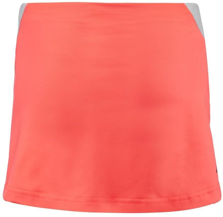 Теннисная юбка детская Babolat Performance Skirt Girl fluo red