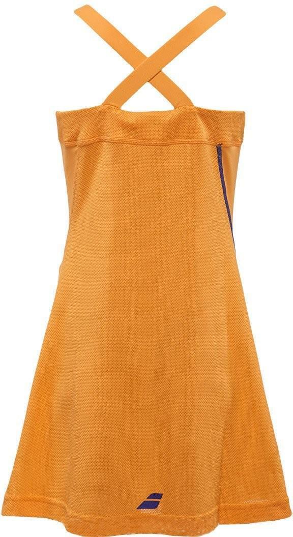 Теннисное платье детское Babolat Strap Performance Girl tomato washed