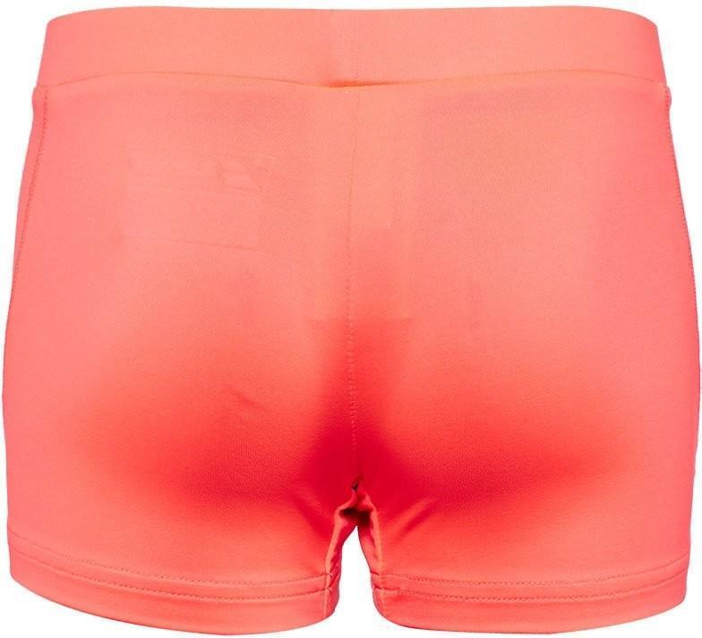 Теннисные шорты детские Babolat Core Shorty Girl fluo strike  под платье