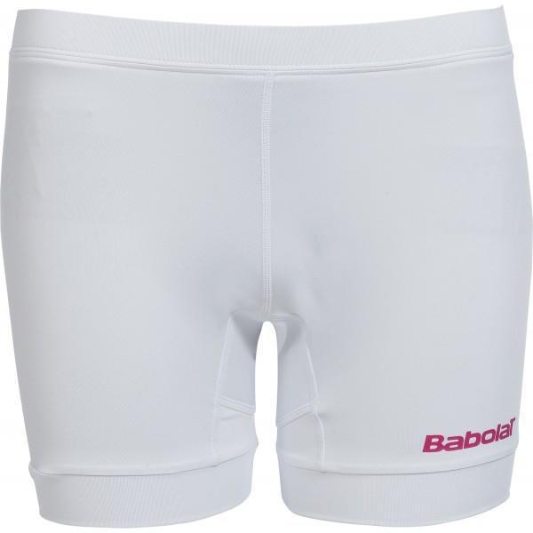 Теннисные шорты детские Babolat Short Girl Match Performance white под платье