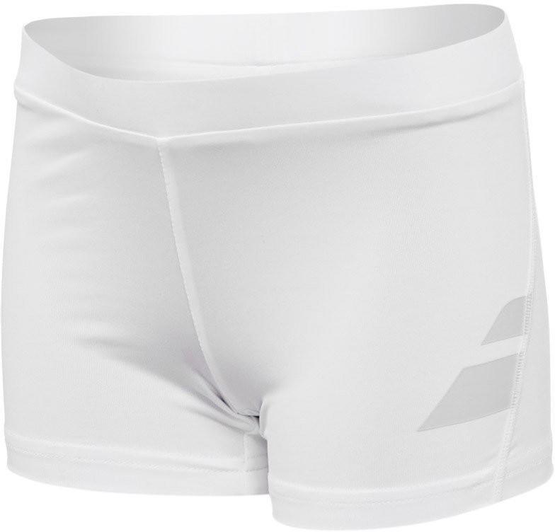 Теннисные шорты детские Babolat Short Performance Girl white под платье