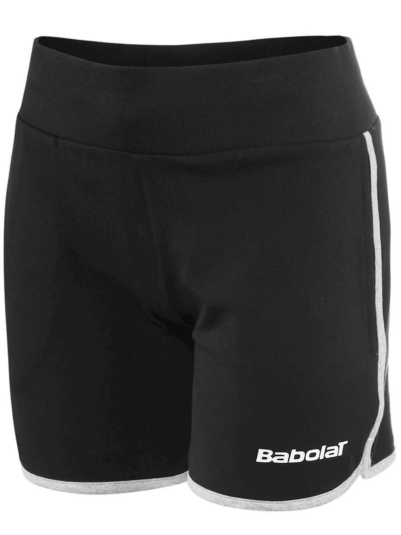Теннисные шорты детские Babolat Short Training Girl black