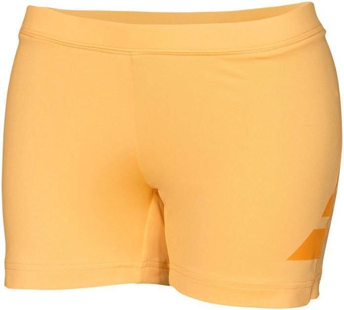 Теннисные шорты детские Babolat Shorty Performance Girl tomato washed