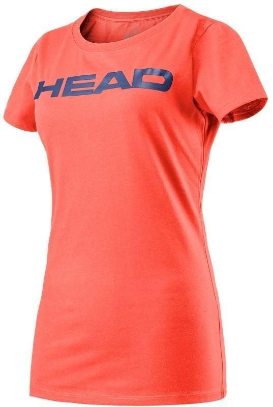 Теннисная футболка детская Head Ivan Jr T-Shirt coral