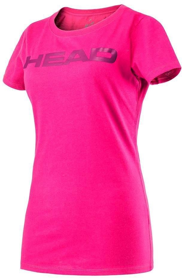 Теннисная футболка детская Head Ivan Jr T-Shirt magenta