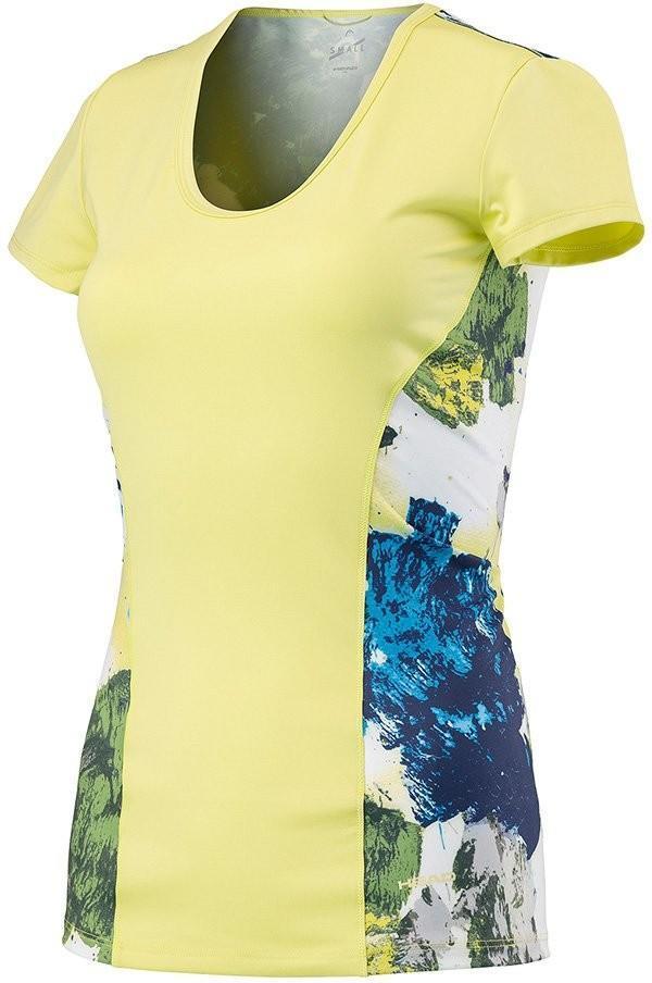 Теннисная футболка детская Head Vision Graphic Shirt G celery green
