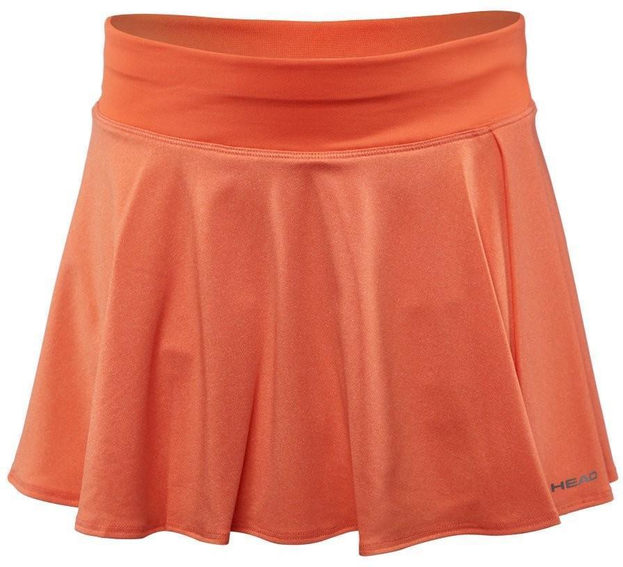 Теннисная юбка детская Head Vision Skort G coral