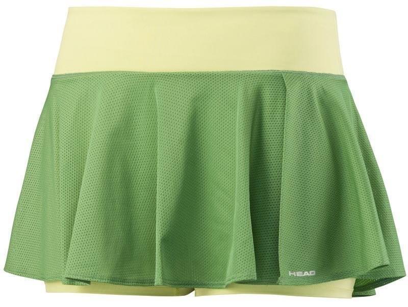 Теннисная юбка детская Head Vision Skort G light green
