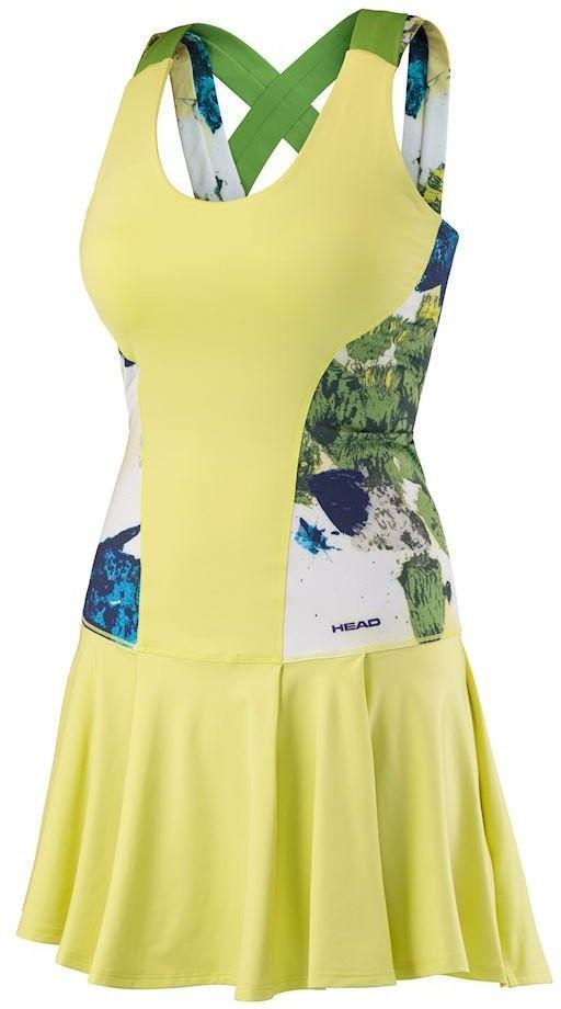 Теннисное платье детское Head Vision Graphic Dress G celery green
