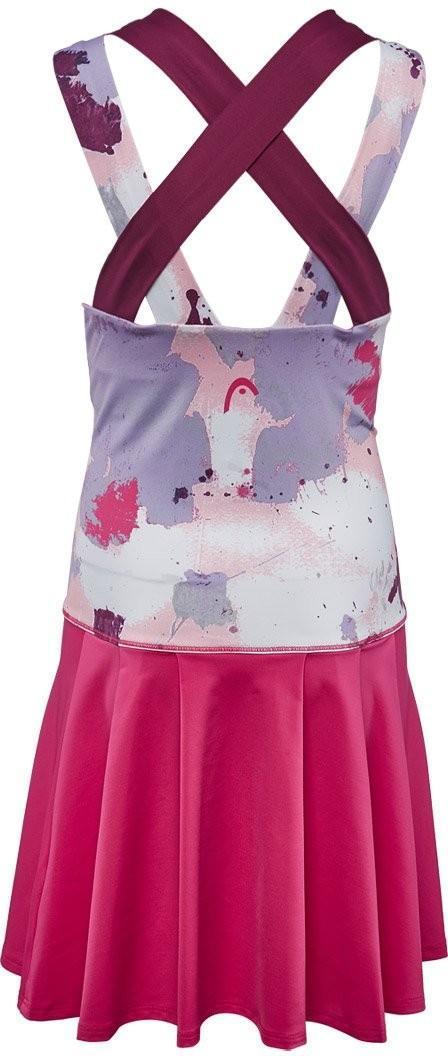 Теннисное платье детское Head Vision Graphic Dress G magenta