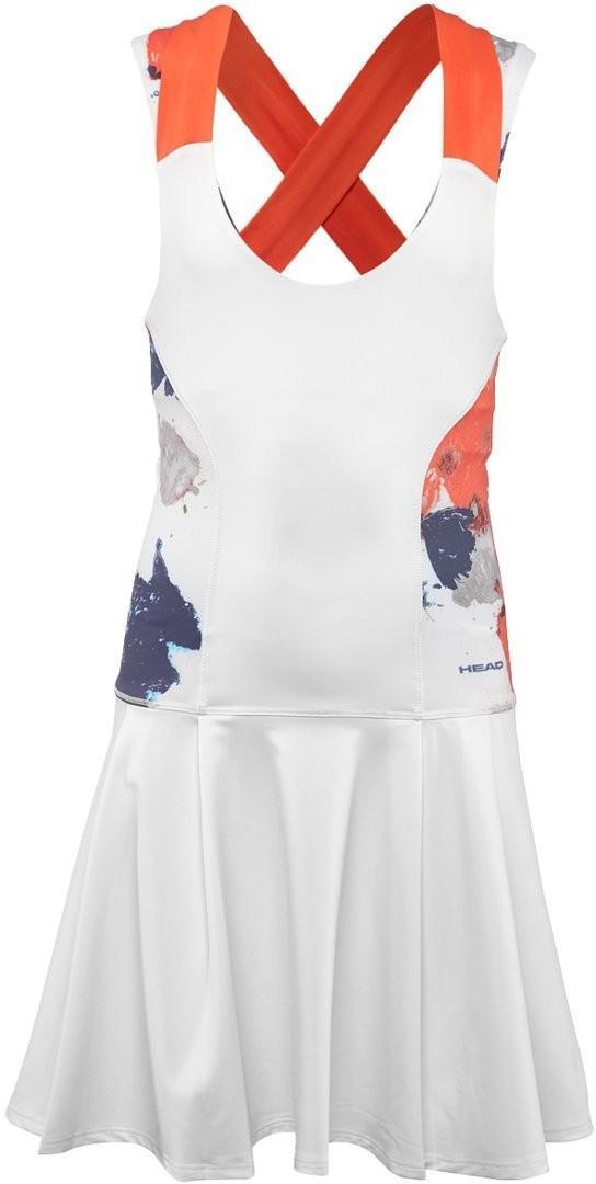 Теннисное платье детское Head Vision Graphic Dress G white