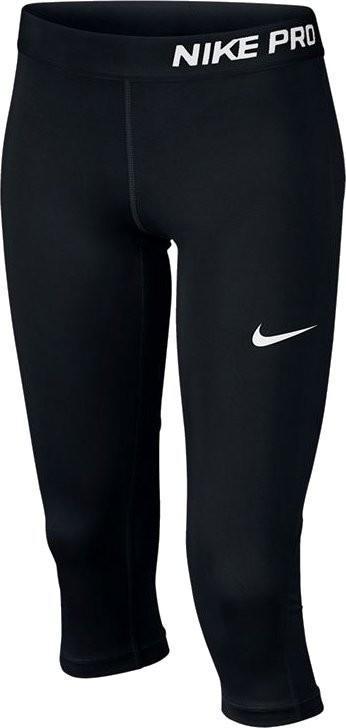 Капри детские Nike Pro CL Capri black/black/black/white