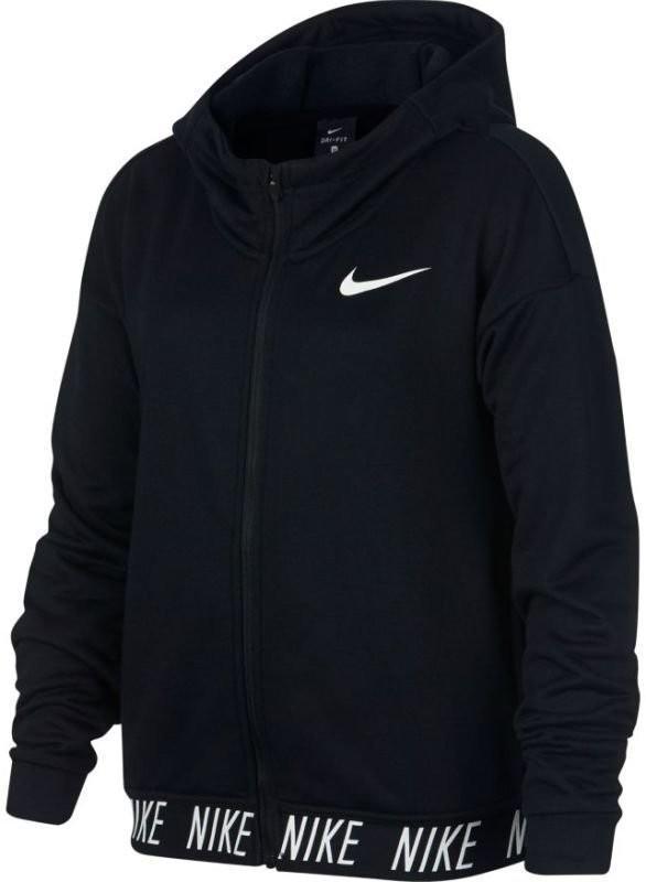 Кофта детская Nike Dry Hoodie Core Studio black/white